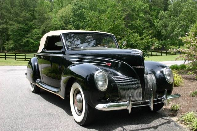 1939 Lincoln Zephyr Raleigh